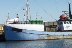 Fischerboot in Dänemark Stockbilder