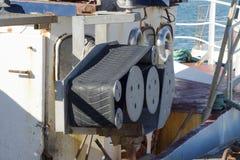 Fischerboot in Dänemark Stockbild