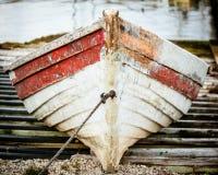 Fischerboot der Mühlbucht Lizenzfreies Stockfoto