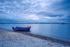 Fischerboot der Weinlese Lizenzfreie Stockfotos