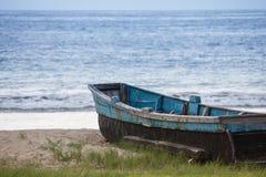 Fischerboot Ecadorian Lizenzfreie Stockbilder
