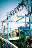 Fischerboot in Keelung Taiwan Stockfotografie
