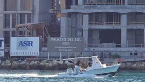 Fischerboot in Miami 4k stock video footage