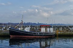 Fischerboot Råå Lizenzfreie Stockfotos
