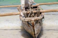 Fischerboot in Sansibar Lizenzfreie Stockfotos
