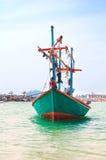 Fischerboot in Thailand Stockfotografie