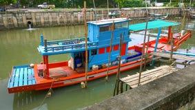 Fischerboot Thailands Lizenzfreies Stockbild