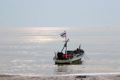 Fischerboot Thailands Lizenzfreie Stockfotos
