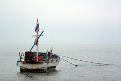 Fischerboot Thailands Lizenzfreies Stockfoto