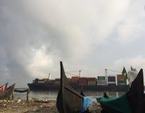 Fischerboot u. Schiff Lizenzfreies Stockfoto