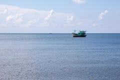 Fischerboot in Vietnam Stockfoto