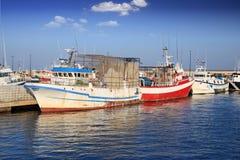 Fischerboote Stockbilder