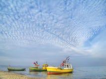 Fischerboote Lizenzfreie Stockbilder