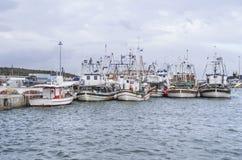Fischerboote stockfotografie