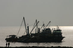 Fischerboote Stockfotos