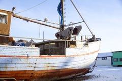 Fischerboote auf dem Strand Lizenzfreies Stockbild