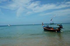 Fischerboote auf dem Wasser Lizenzfreies Stockbild