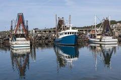 Fischerboote bei Coffs Harbour Stockfotos