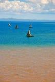 Fischerboote von neugierigem sind Lizenzfreie Stockfotografie