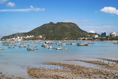Fischerboote in Vung Tau, Vietnam Lizenzfreie Stockfotografie