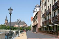 Fischerdorf Lizenzfreies Stockbild