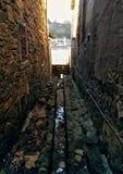 Fischerdorf im baskischen Land Stockfoto