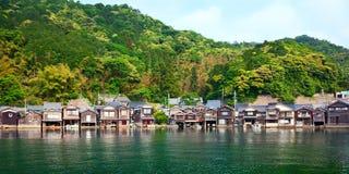 Fischerdorf in Kyoto lizenzfreies stockfoto