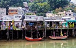 Fischerdorf Tai-O, Hong Kong Lizenzfreie Stockfotografie