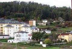 Fischerdorf (Viveiro, Spanien) Stockfoto