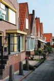 Fischerdorf von Volendam in Holland Stockfoto