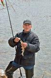 Fischerei 19 Stockfoto