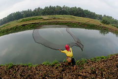 Fischerei Stockfotografie