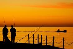 Fischerei in Balitc Meer Stockfoto