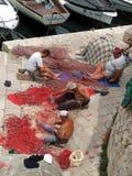 Fischerei bei Gallipoli Stockfoto