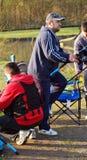 Fischerei in Belgien-Leitartikel Lizenzfreie Stockfotografie