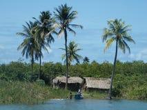 Fischerei in Brasilien Lizenzfreie Stockfotografie