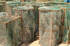 Fischerei der Falle Lizenzfreie Stockbilder