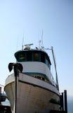 Fischerei der Lieferung in Hoonah, Alaska Lizenzfreie Stockfotografie