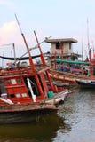 Fischerei der Lieferungen, Thailand Lizenzfreie Stockfotografie