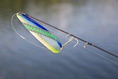 Fischerei des Köders Stockbild