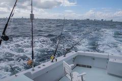 Fischerei in Florida USA Stockbild