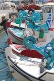 Fischerei, Mittelmeer Stockbild