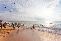 Fischerei in Sri Lanka, Asien Stockfoto