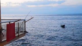 Fischerei vom Haus Lizenzfreie Stockfotografie