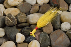 Fischerei von Köder IV stockbilder