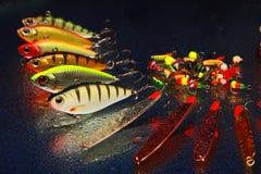 Fischerei von Ködern Lizenzfreie Stockbilder