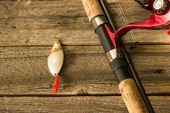 Fischerei von Ködern Lizenzfreies Stockbild