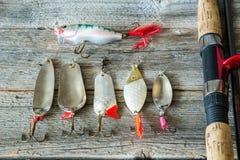Fischerei von Ködern Lizenzfreie Stockfotografie