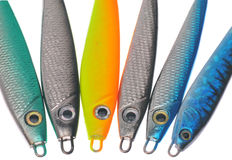 Fischerei von Ködern Stockfoto