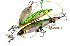 Fischereiausrüstung Lizenzfreies Stockbild